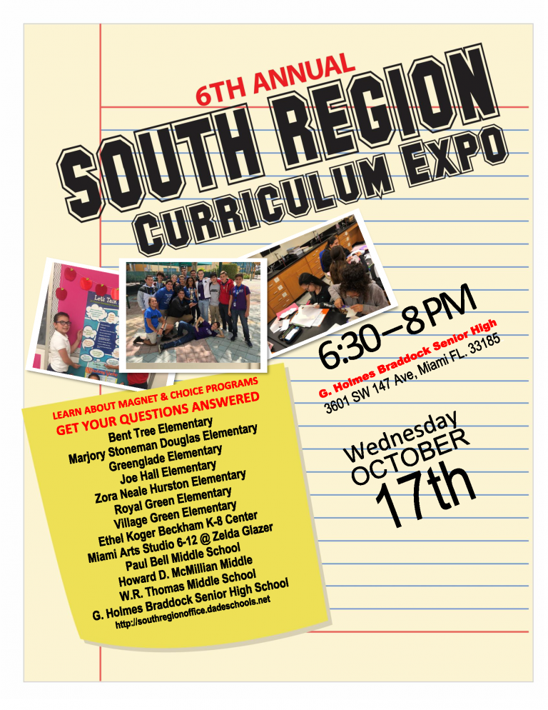 Curriculum Expo Flyer